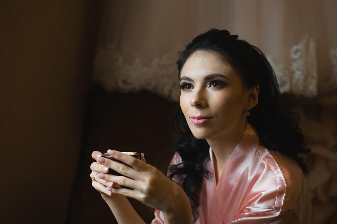 Свадебный Фотограф Запорожье Маша Рихтер Утро невесты кофе