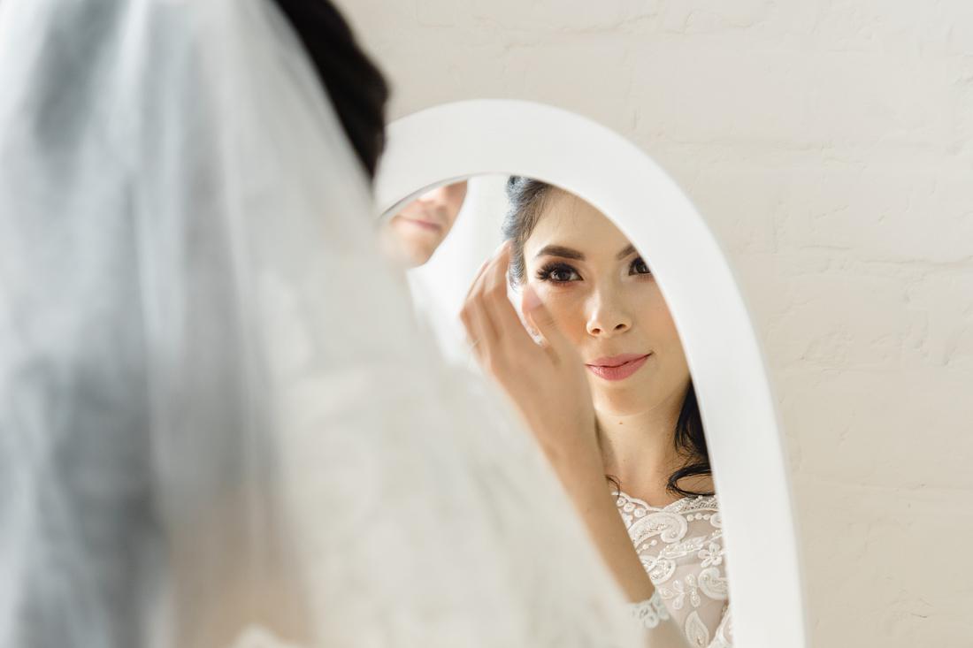 Свадебный Фотограф Запорожье Маша Рихтер зеркало невеста