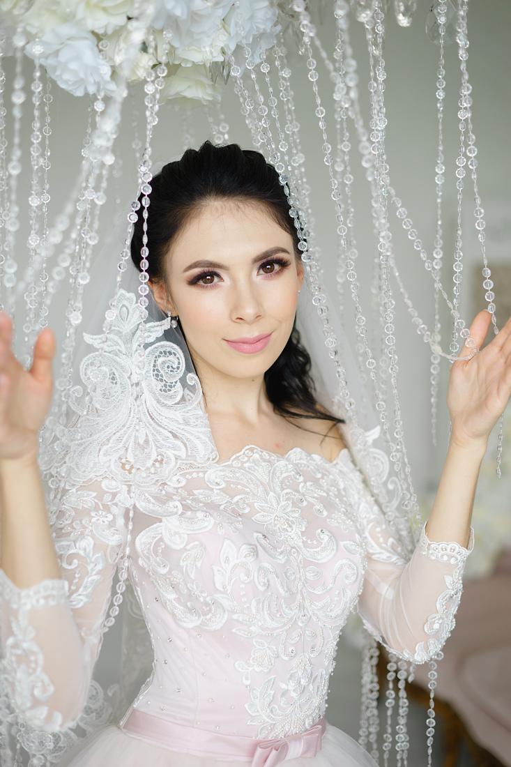 Свадебный Фотограф Запорожье Маша Рихтер невеста в розовом платье