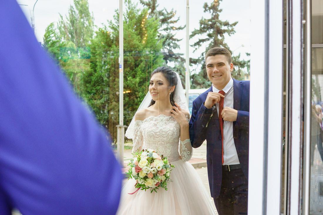 Свадебный Фотограф Маша Рихтер Запорожье центральный ЗАГС