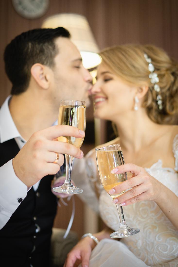 Фотограф Запорожье на свадьбу бокалы