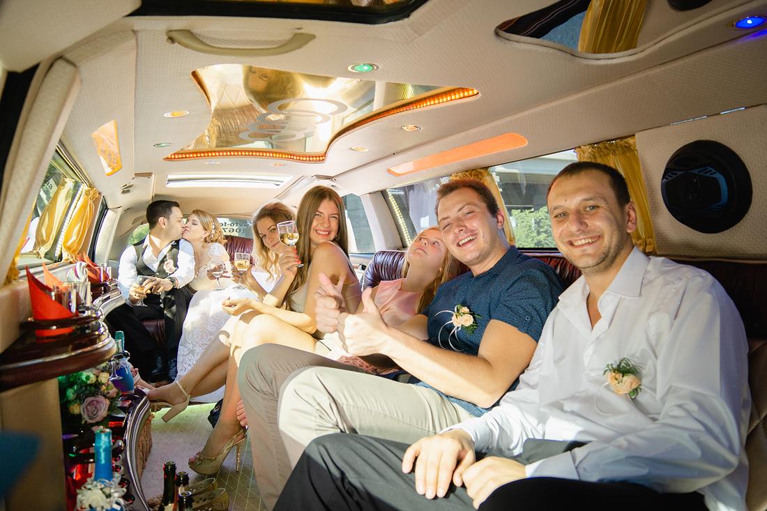 Фотограф Запорожье Маша Рихтер лимузин гости свадьба
