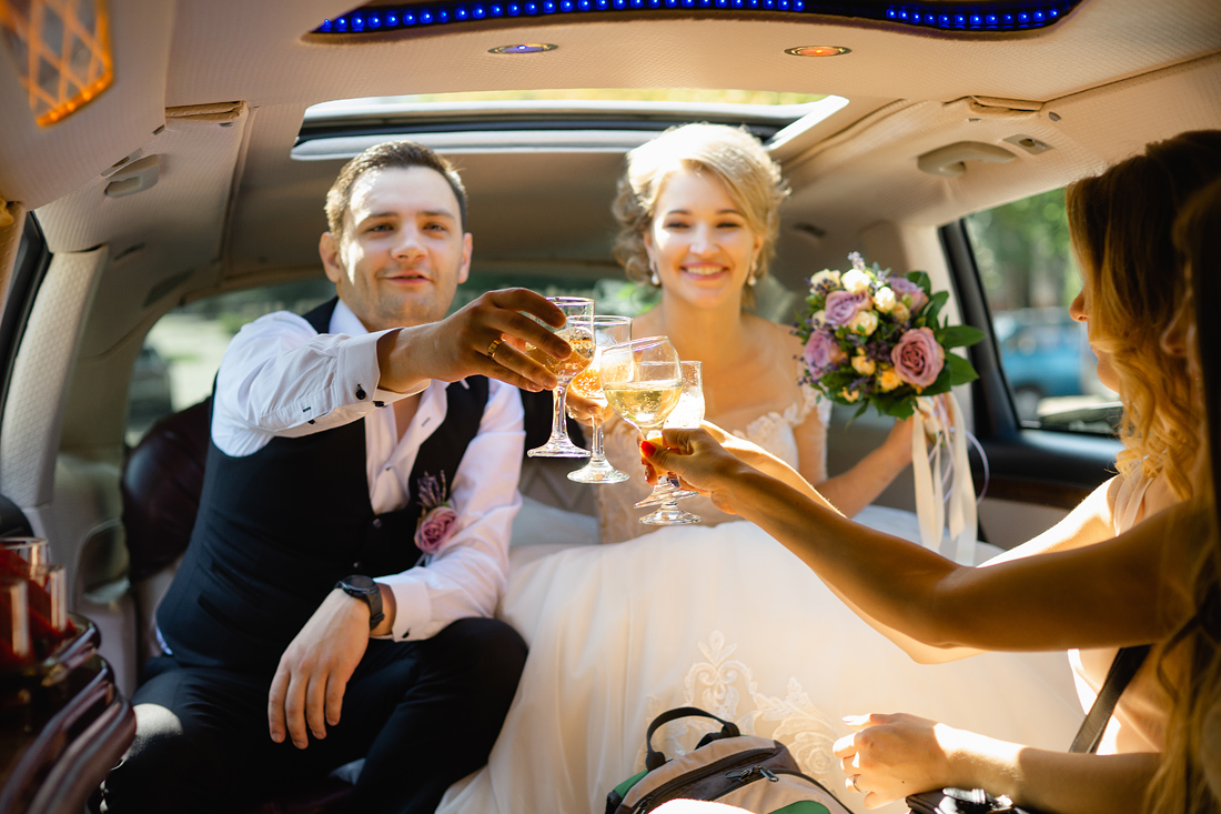 Фотограф Запорожье Маша Рихтер лимузин свадьба