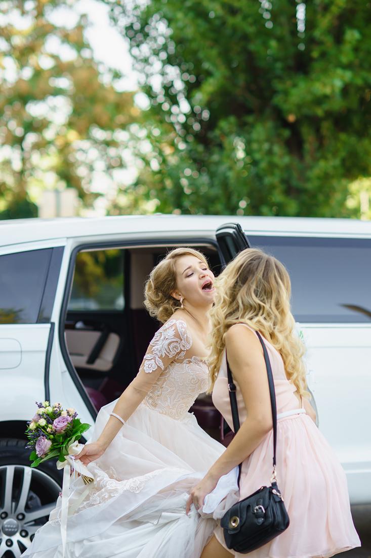 Фотограф Запорожье Маша Рихтер свадьба невеста поет