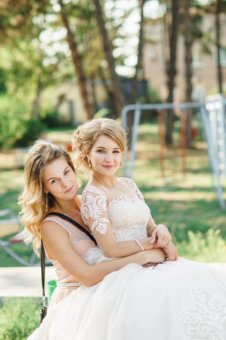 Фотограф Запорожье Маша Рихтер свадьба дурачатся